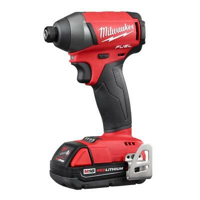 MILWAUKEE-2753-22CT M18 FUEL 1/4 In. Hex Impact Driver Kit - CT Batteries