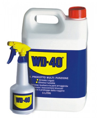 Wd-40 Lubricant Spray Lt 5 Dispenser With Colors