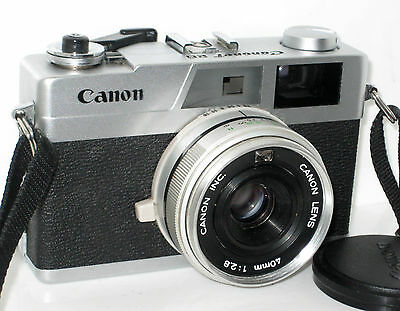Canon Canonet 28   Serviced  Near Mint - 100% Funzionante Fully Working