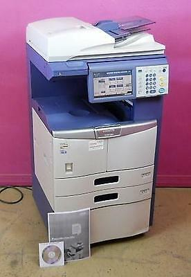 "Toshiba E Studio 255 Multi-Function Print, Copy, Scan, Fax w/ 8.5"" Color Display"