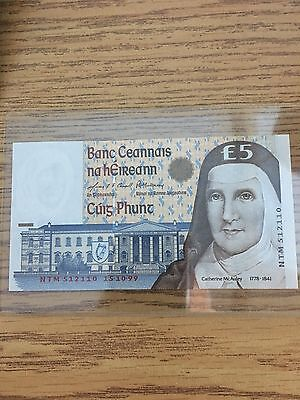 Ireland 5 Pounds, 1999, UNC banknote