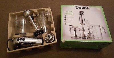 DUALIT Hand Blender with accessories Boxed SPARES/ REpairs