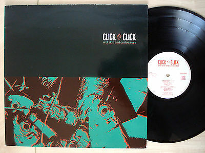 Click Click Wet Skin And Curious Eye SIGNED A-1 B-1 LP LD 879 1987 EX+