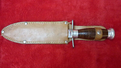 Couteau  Chasse Collector Etoile Mf Manufrance Tbe Hunting  Knife Vgc