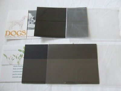 Royal Mail Presentation Packs, Sleeves, Black Cards, Illustrated Card- No Stamps