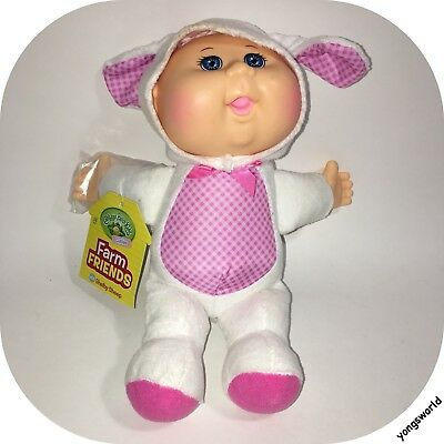 """Cabbage Patch Kids Cuties Collection Farm Friends Shelby Sheep 9"""" Baby Doll"""