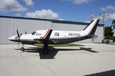 1974 Piper Navajo Pressurized Lycoming Engines 425 Hp Turbo Charged 905/945 Smoh