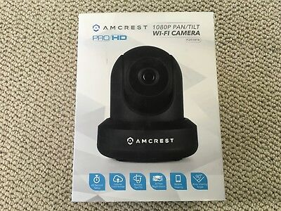 AMCREST FULL-HD 1080P 4CH Video Security System 4 x Bullet Cameras