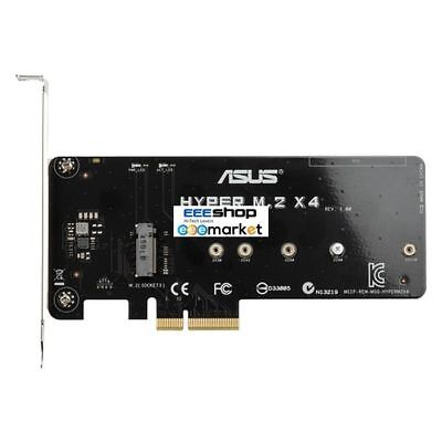 ASUS HYPER M.2 X4 MINI Internal M.2 interface cards/adapter PCI 90MC05G0-M0EAY0