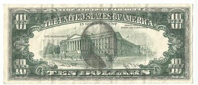 1974 $10 FRN-FR 2022-A offset printing error rare! Extremely fine. Free shipping