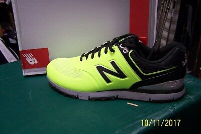 New 2017 New Balance Nbg518 Golf Shoes Mens 11 M  Lime/black/grey  Nib