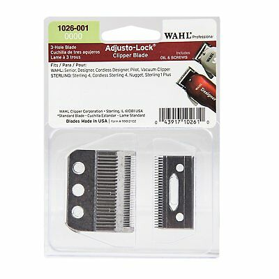 Clipper Wahl Replacement Blade Size 0000 Adjusto-Lock CL-1026-001