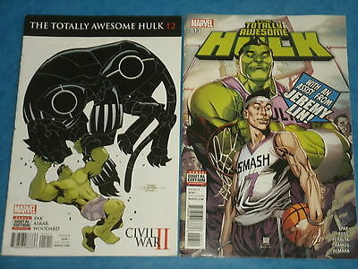 Marvel Comics: THE TOTALLY AWESOME HULK Issues #12 & #13  w/Jeremy Lin!