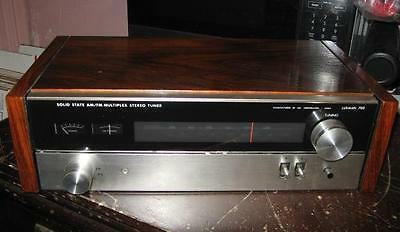 Luxman 700 Solid State AM/FM Multiplex Stereo Tuner Wood Cabinet Works Perfectly