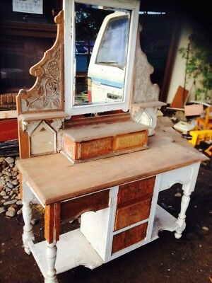 EDWARDIAN Hall Stand - Side Board dressing Table