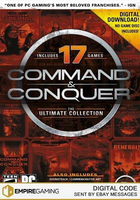 Command and Conquer: The Ultimate Collection PC (Origin Download Key)