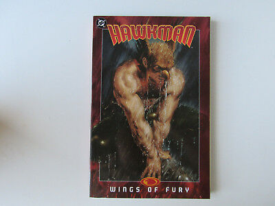 Hawkman Wings of Fury DC $18 Graphic Novel TPB Justice League of America JLA