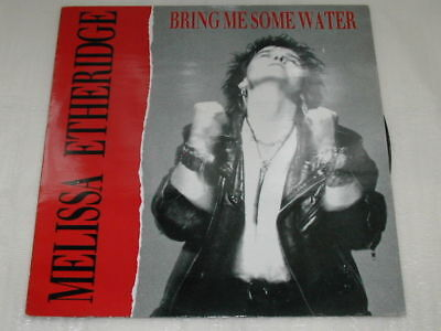 "Melissa Etheridge Bring Me Some Water/Occasionally/I Want You 12"" Single"