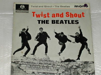 "The Beatles Twist And Shout 7"" EP"