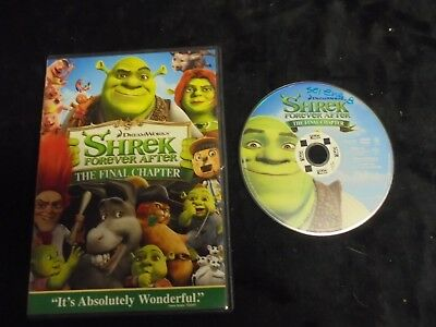 """USED DVD Movie """"Shrek"""" Forever After The Final Chapter """"    (156)"""