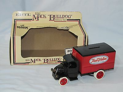 1926 Mack Bulldog True Value #2 In The Series 1/24th Scale Bank Made In 1983