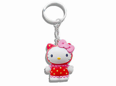 Hello Kitty Raspberry Scented 3D Keyring - Official