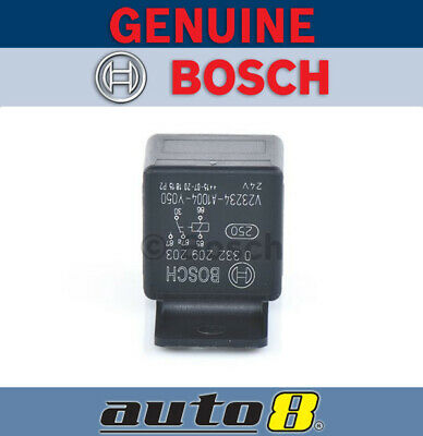 Genuine Bosch Automotive Relay 24V Change Over 5 Pin Resistor Protected