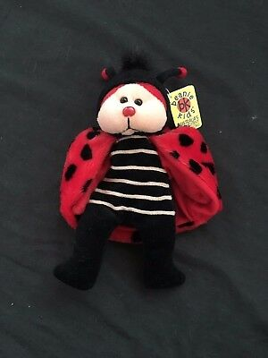 Beanie Kids Dots the Ladybird Bear