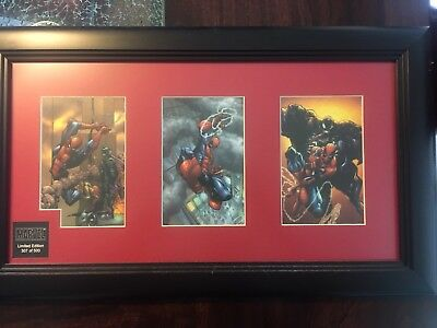 Spiderman Framed Laser Cell Limited Edition Mcfarlane