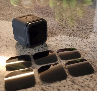 GoPro Session 4/5 Stick On ND4 & ND8 Neutral Density Filter Anti-Jello *6 PACK*