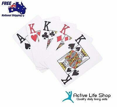 Large Print Playing Cards Jumbo Index Vision Aids Easy to See