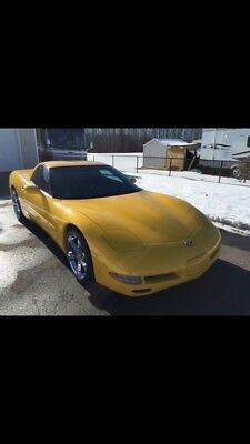 Chevrolet: Corvette 2003 50TH Anniversary Super Charged Corvette