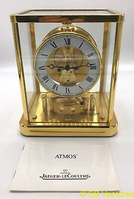 Jaeger-LeCoultre Atmos Mantle Clock 540 13 Jewels Roman Numerals #647547 Swiss