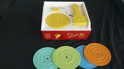 Fisher price music box record player 2010 reproduction