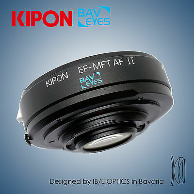 Version II Baveyes 0.7x Auto Focus Adapter for Canon EOS to m4/3 MFT Camera