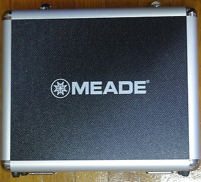 Meade telescope eyepiece accessory aluminum case