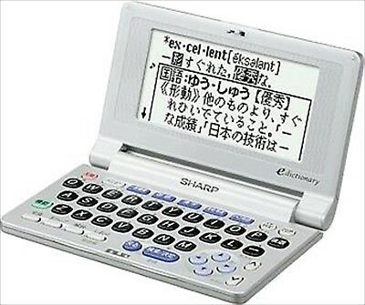 SHARP PW-M100 Papyrus Electronic Dictionary 15 Contents Compact F/S from Japan