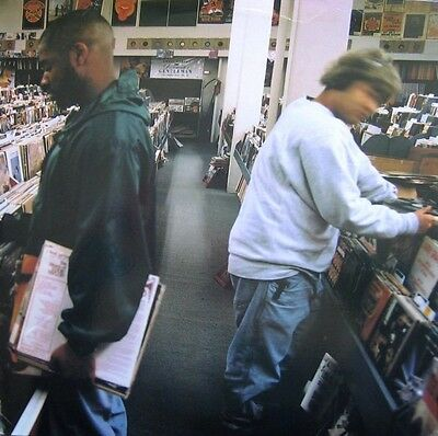 DJ Shadow Endtroducing Original Double LP 2002 Hip Hop - As New