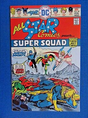 All Star Comics # 58 - (Vf+) - 1St App Of Power Girl - 1St Issue Since 1951