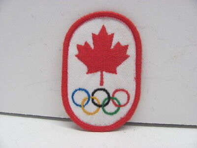 Canadian Olympic  Crest Embroidered Patch