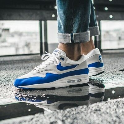 cheap for discount ea062 165a9 italy nike air max 1 anniversary og 30th game royal blue 2017 men sneakers  908375 102