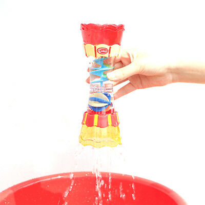 Baby Kids Bath Toy Play with Water Scoop Swimming Beach Rotating Cylinder Gift
