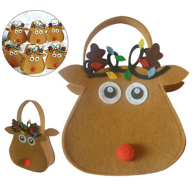Christmas Cute Elk Candy Bar Bags Holder Xmas Party Birthday Gift Favour Supply