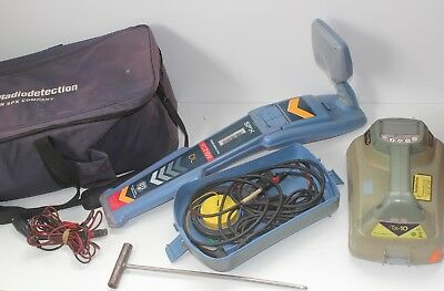 Radiodetection RD7100DL + TX10 Cable Avoidance Tool System pipe locator Kit
