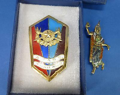 Medaille Armed forces academy preparatory school Thailand Thai Army