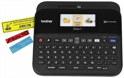 Brother P-touch Label Maker Printer PTD600 PC Connectable Color Display New!
