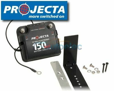 Projecta 150 Amp 150A Electronic Dual Battery Isolator 12V 12 Volt Dbc150 New