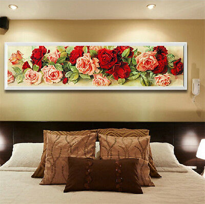 Drill DIY 5D Diamond Painting Embroidery Cross Crafts Stitch Kit Home Decor
