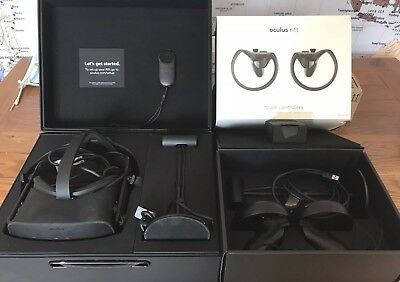 Oculus rift CV1 with touch controllers bundle