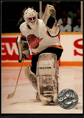 Troy Gamble #121 Vancouver Canucks Pro Set Platinum 1991-2 Ice Hockey Card(C542)